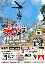 Spank Ind. Dirt Wars UK - Busy 3 weeks ahead of us!