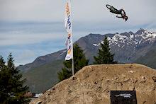 Crankworx Les 2 Alpes 2012 - Slopestyle Practice: Photos/Video