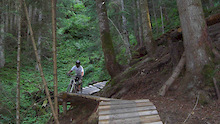 "Bikepark Leogang seduces with new highlights - Development of ""Bongo-Bongo""-trail and new ""Lumberjack-line"""