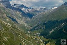 Val d'Isère WC Course Walk