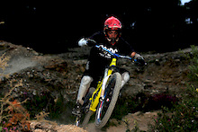 Paul hitting the berms for the first line of the evening, was experimenting with a touch of flash,brought the levels up in photoshop and was happy with result.