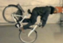The Invisible Bicycle Helmet?