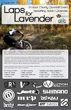 Laps for Lavender! An 8-HR Charity Downhill Event in Crested Butte, Colorado