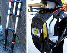 2013 RST Suspension and Leatt H4 backpack - First Look