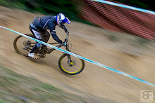 Leogang DH Training - UCI World Championships 2012