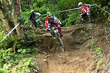 IXS European Downhill Cup 2012 - Chatel Course Check with Brendan Fairclough