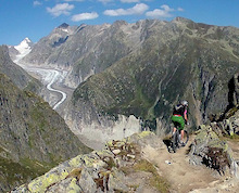 Switzerland Mountain Biking 2012 - Aletsch Arena - Alpine Rides - Part 2 of 4