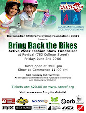 Canadian Children's Cycling Foundation (CCCF) - Bike Week Event