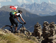 South Tyrol 2012 - Riding the Dolomites and the Italian Alps - Steinegg and the Rosengarten Range: Part 3