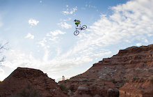 Red Bull Rampage 2012 - Contour Footage: Zink Canyon Crash