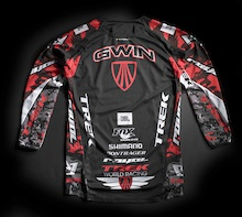 CONTEST: Win a Race-Worn, Signed, Framed Aaron Gwin Jersey