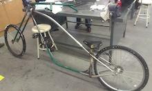 Kelowna, British Columbia. germi67: Homemade-Chopper-Bicycle