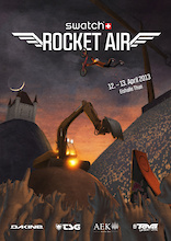 Swatch Rocket Air Event Flyer