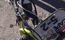 Clip: Mountain Biker Hits Buck