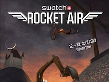 Swatch Rocket Air is Flying High: Teaser 2013