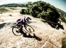 Aaron Gwin Wins DH on a 29er - Jill Kintner Wins on a 650B - Sea Otter 2013