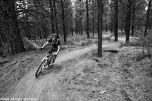 """Friday """"Happy Hour"""" at the Lower Whoops trail near Bend, Oregon."""