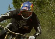 Video: Aaron Gwin Blazes a Trail
