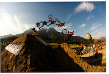 Out of Bounds Festival, part 8: slopestyle Pro's at 26TRIX, DH elite at iXS European Downhill Cup