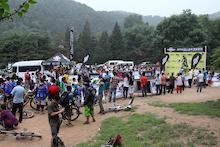 2013PINKBIKE中国山地车速降联赛第一站