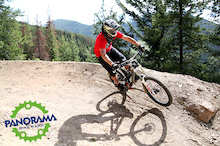Summer 2013 - Panorama Bike Park Update 1