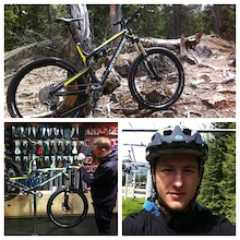 2012 Rocky Mountain Photo of the Year Winner's First Ride