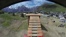 Crankworx Les Deux Alpes - Slopestyle Course - Preview