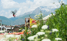 Anthony Messere Stomps his way to Slopestyle Victory at Crankworx Les 2 Alpes