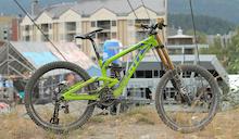 Brendan Fairclough's Scott Gambler Race Bike - Crankworx Whistler 2013
