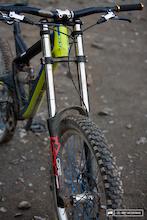 Marzocchi 380 C2R2 Titanium Fork - First Ride