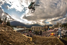 Fire! At Red Bull Joyride