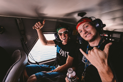 Knolly Team riders - James and Garrett