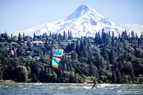 """Hood River, Oregon has a lot to offer;  a great trail network, world-class windsurfing and sailboarding, close to ski resorts, wineries and the home of Full Sail Brewing and DaKine.  And, as Rachel Throop put it, Hood River, """"has the same vibe at Santa Cruz""""."""