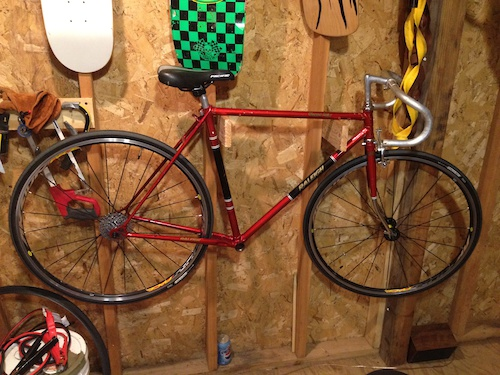 Old Raleigh build
