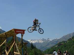 Mountain Bike time travel