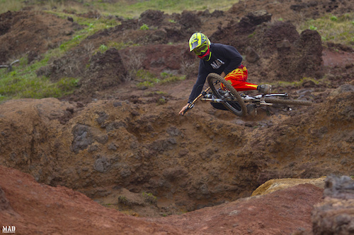 #tableforoneplease. The MADproductions rider, Rui Sousa, putting it flat. Dinner is served...