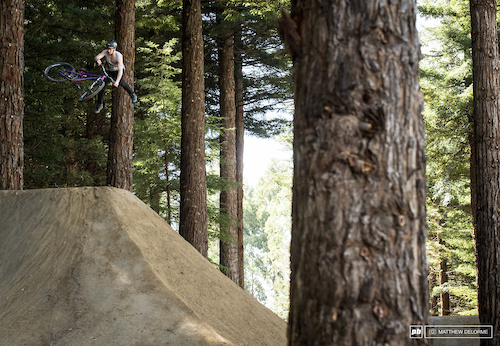 Whips where a staple today. Sam Pilgrim trowing it out up top.