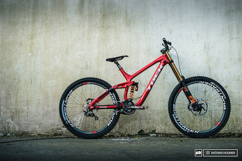 Brook MacDonald's speed machine, awaiting it's master to go and blow up a mountainside.