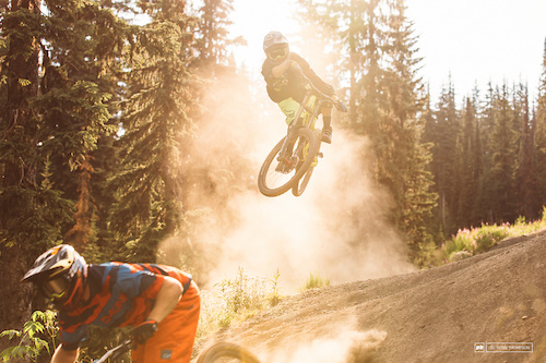 Sunshine and dust, the primary ingredients at the bike park this season.