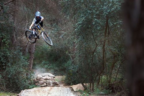 Images to go up with a video of Laurie Greenland riding at RoostDH in Spain.  www.AspectMedia.tv