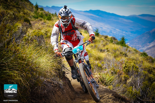 Riding the ridge above Queenstown provided riders with spectacular views on skinny and fast single track.