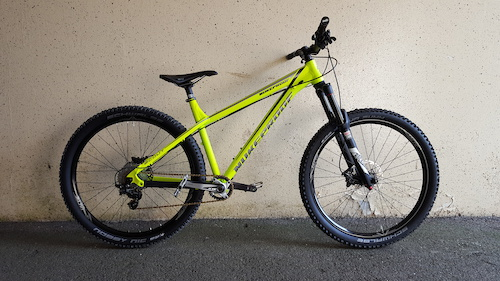 My new Nukeproof Scout 275 all built up
