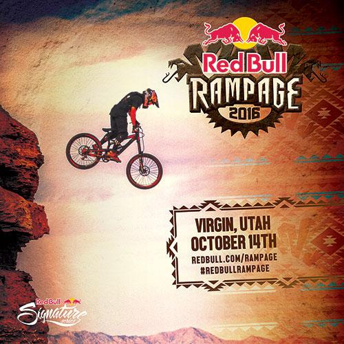 2016 Red Bull Rampage logo