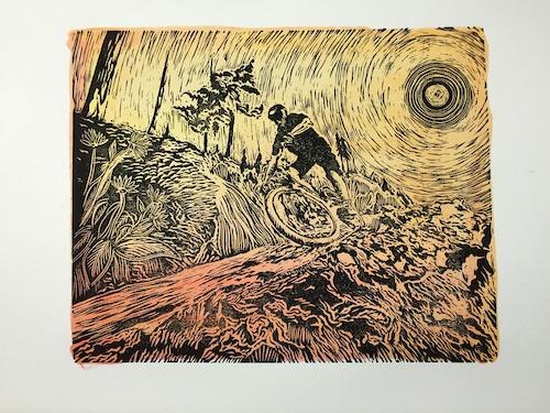 Watercolor Backdrop Printover