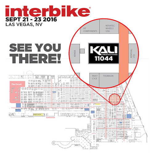 See you at Interbike. Booth 11044