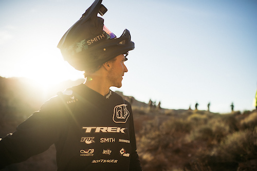 Tom Van Steenbergen heading up to test out his seriously large roll in.
