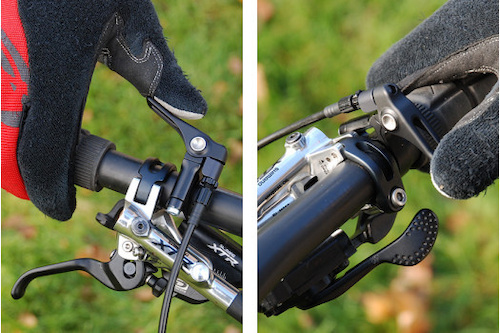 9point8 ThumB remote dropper lever