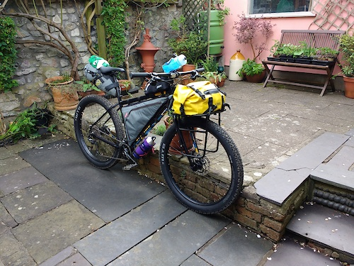 What Rigid Mtb With Panniers For Adventures Singletrack