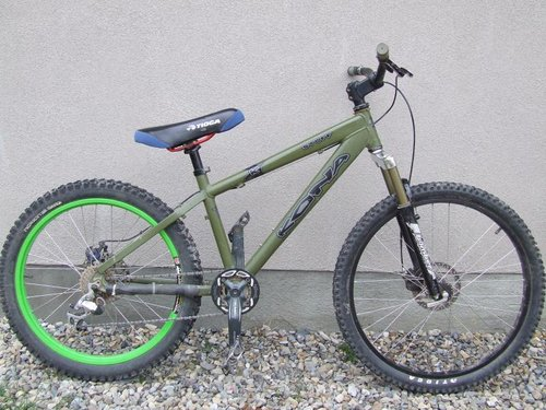 This is the complete Bike, I am just missing the shifter but am getting it fixed right away