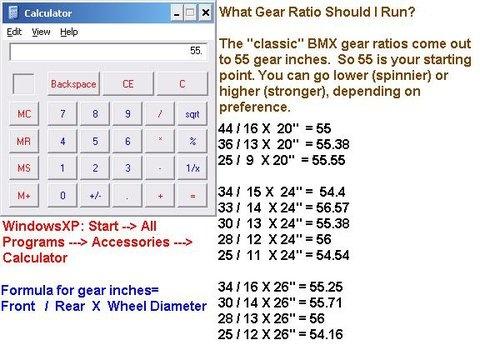Gear ratio help singlespeed - Pinkbike Forum
